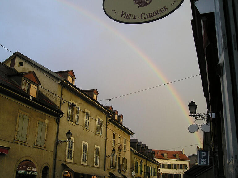 Shopping at Carouge Market, Geneva - Geneva