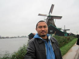 Photo of Amsterdam Zaanse Schans Windmills, Marken and Volendam Half-Day Trip from Amsterdam Windmill trip