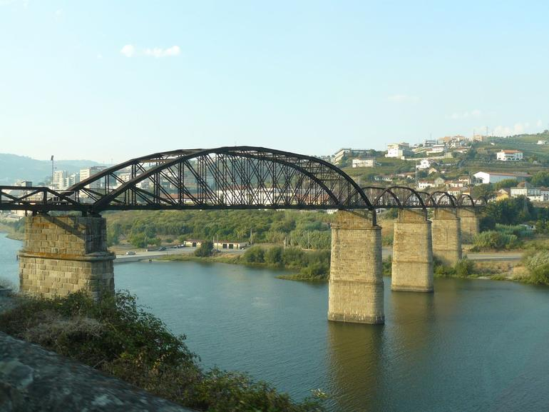 Abandoned bridge in Regua - Porto