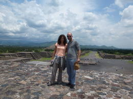 Photo of Mexico City 6-Night Best of Central Mexico Tour: Teotihuacan Pyramids, Taxco, Cuernavaca and Puebla from Mexico City at the Pyramids