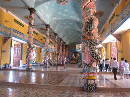 Photo of Ho Chi Minh City Private Tour: Cu Chi Tunnels and Cao Dai Temple Full-Day Tour from Ho Chi Minh City Cao Dai Temple