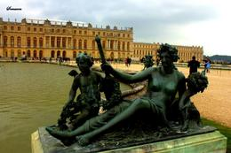 Garden of the Palace of versailles was indeed very beautiful.. , Somanon B - June 2013