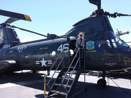 I was able to go inside the helicopter! , Michael R - April 2014