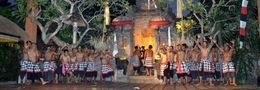 Photo of Bali Bali Kecak Dance, Fire Dance and Sanghyang Dance Evening Tour Kecak dancers