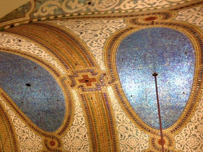 Largest Tiffany art glass mosaic in the world - Chicago