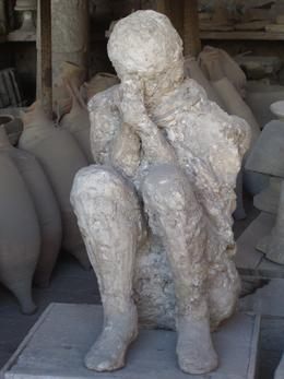 Photo of   Man, Pompeii
