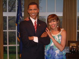 Photo of Las Vegas Madame Tussauds Las Vegas Me and Obama
