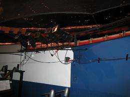We got to go into the orchestra pits., Jodie A - October 2007