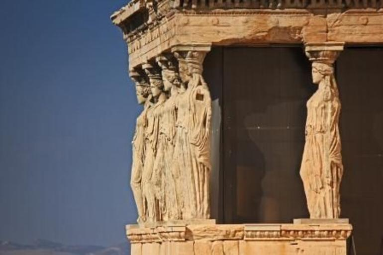 The Porch of the Caryatids at the Acropolis (1) - Athens