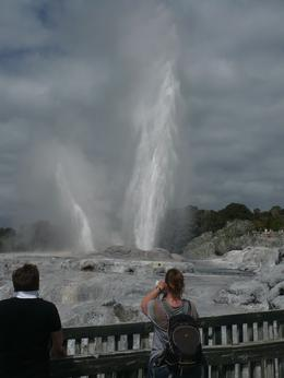 Photo of Auckland Waitomo Caves and Rotorua Day Trip from Auckland The Prince Alfred geyser