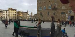 Photo of Florence Skip the Line: Small-Group Florence Renaissance Walking Tour with Accademia Gallery Town square