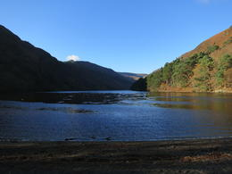 Stunning view of the upper lake in Glendalough. , Kara M - December 2014