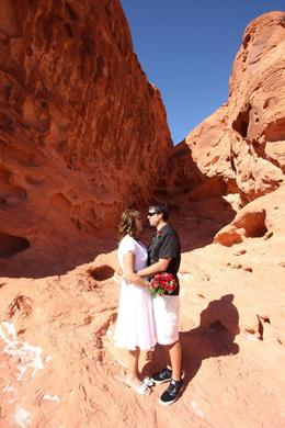 Photo of Las Vegas Valley of Fire Wedding by Private Limousine Valley of Fire photo 3 Stacie  and  Marc