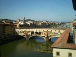 Ponte Vecchio and Arno from the Uffizi Gallery, Caroline B - October 2008
