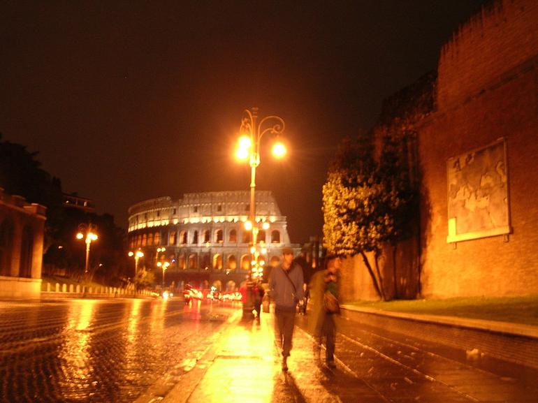 Walking to the Colosseum - Rome