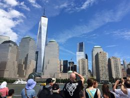 A great view on Manhattan from the boat , VAI KEI L - August 2015