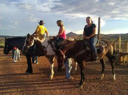Photo of Las Vegas Wild West Sunset Horseback Ride with Dinner Wild West Sunset Horseback Ride with Dinner