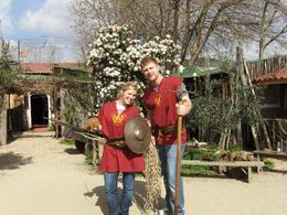 Here we are after Gladiator training., Amy C - March 2008