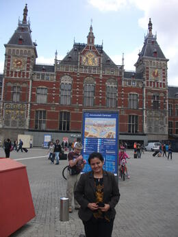 Amsterdam Central Station_Tania Dey , TANIA DEY - August 2012