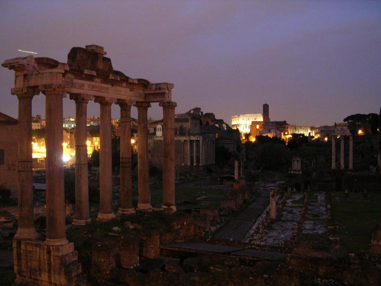 Another Picture of the Forum - Rome
