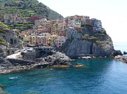 Manarola, one of the five villages of a Cinque Terre. , Diane P - July 2014