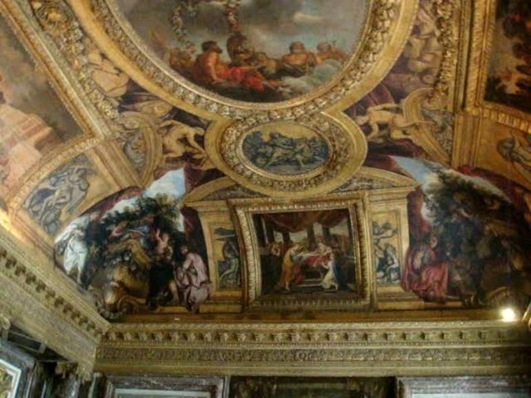 Famous Ceilings in Chateau de Versailles - Paris