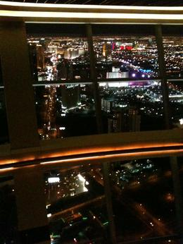 View from the bar at the top of the tower , Leah - February 2012