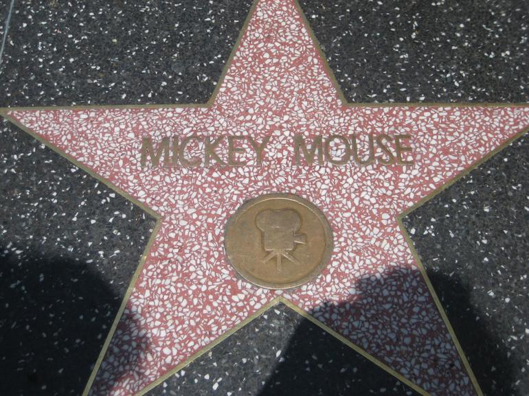 hollywood walk of fame - Los Angeles