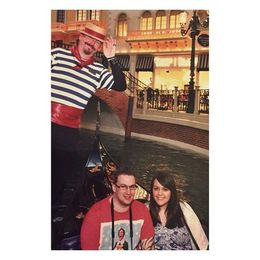 Photo of Las Vegas Las Vegas Super Saver: Romance Package at Madame Tussauds with Gondola Ride and Lunch or Dinner Me  my boyfriend on our Gondola Ride in The Venetian