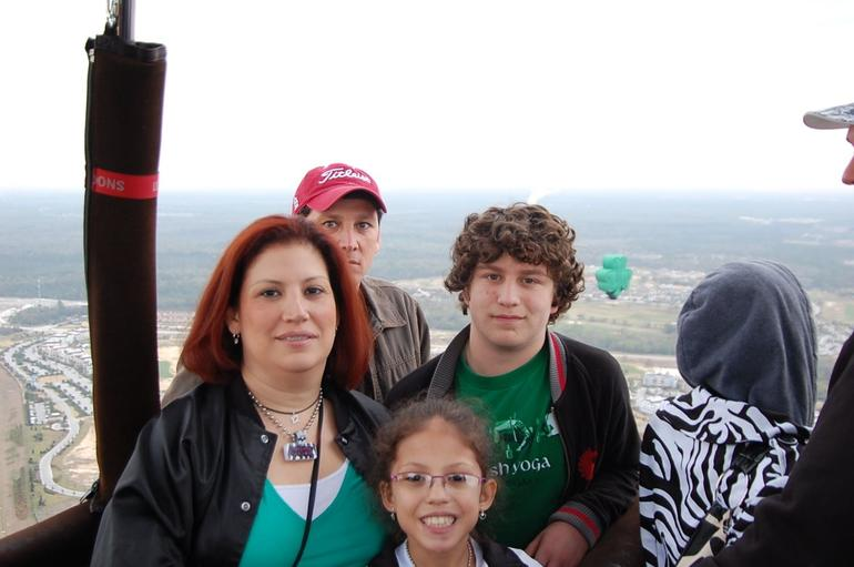 My family and flying companions - Orlando