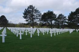 American Cemetary at Omaha Beach, Norman V - June 2010