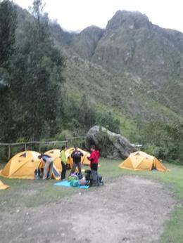 Photo of Cusco The Inca Trail: 4-Day Trek to Machu Picchu Our Camp