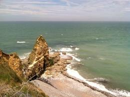 Looking out that Point du Hoc. To the left is where the Army Rangers scaled. , Michael S - June 2013