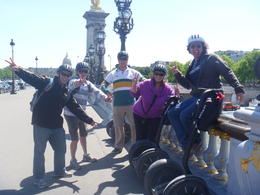 Photo of Paris Paris City Segway Tour Relaxing on the Pont Alexandre III, Paris