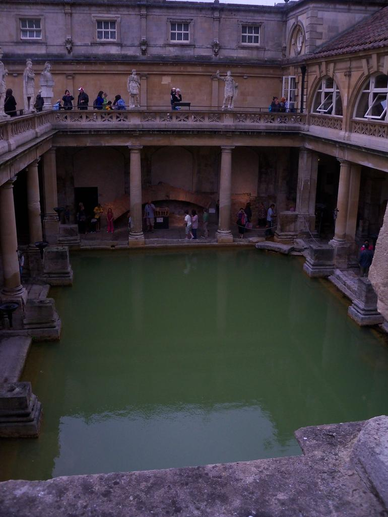 Roman Bath in Bath, England - London