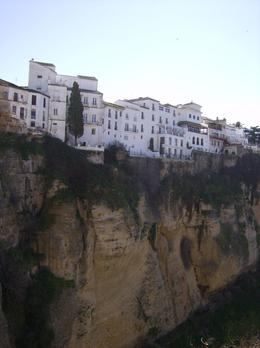 Houses on the cliffs of Ronda, Spain. , David O - January 2011
