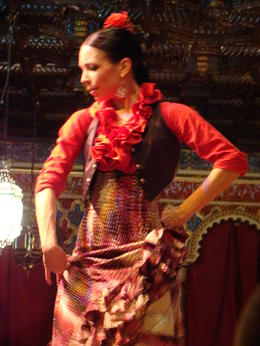 Foto de Madri Show de flamenco no Torres Bermejas Spanish Dancer
