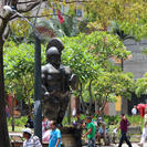 Photo of Medellín Medellín City Tour with Optional Lunch and Metrocable Gondola Ride Statue