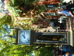 A must see Steam Clock which coincidentally is exactly as the one I also saw on this cruise, in Otaru, Japan. , silviaeaston - October 2014