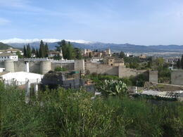 Photo of Granada Historical Granada Sightseeing Tour stunning panorama of the Alhambra with the snowy sierra behind