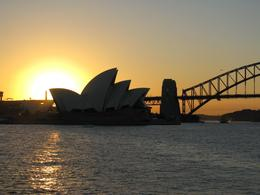 Sunset at the Sydney Opera House., Jordan B - April 2008