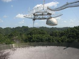Photo of San Juan Rio Camuy Cave Park and Arecibo Observatory from San Juan Telescope