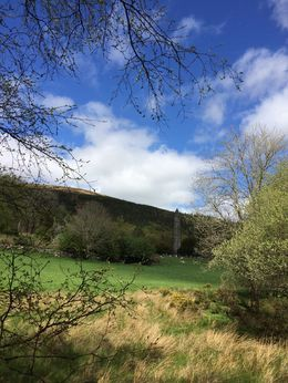 This is the scenery that surrounds the monastery in the Wicklow Mountains. , Alyson T - May 2015