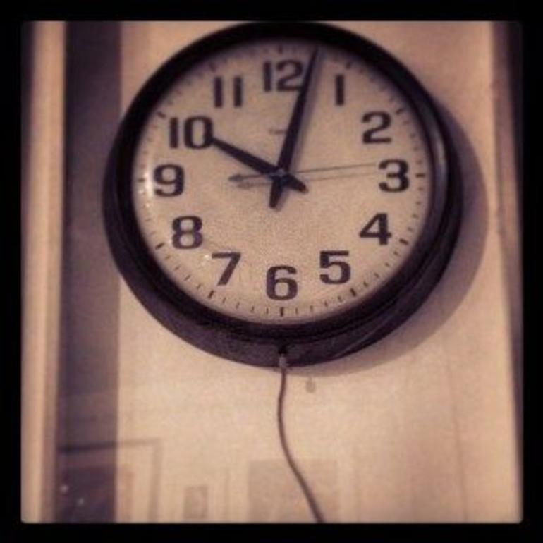 Time when time stopped - New York City