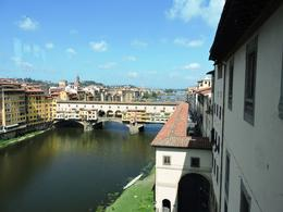 Photo of Florence Skip the Line: Florence Uffizi Gallery Tour View from the Uffizi Gallery
