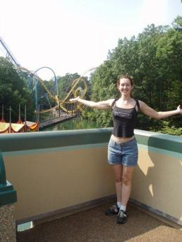 Reveling in my first time at Busch Gardens , Amy - June 2013