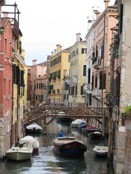 Photo of Venice Private Tour: Venice Rialto Market, San Polo and Frari Church Walking Tour An alley of sorts