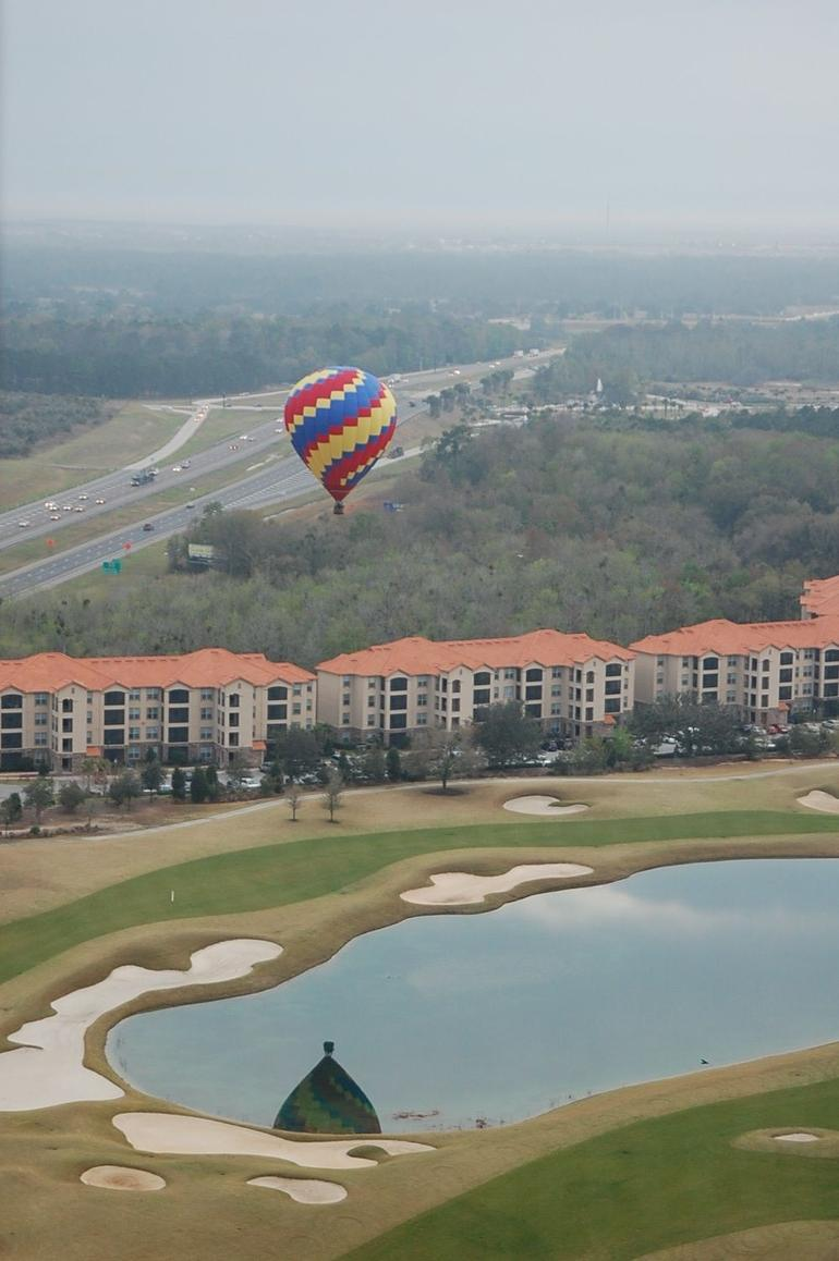 Another balloon flying - Orlando