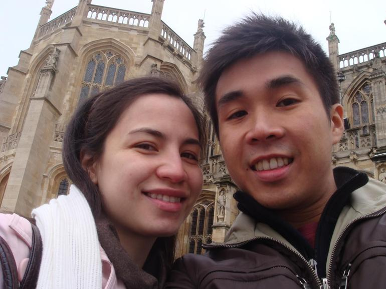 At Windsor Castle - London