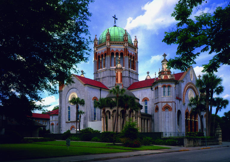 Beautiful Flagler Memorial Church - Orlando